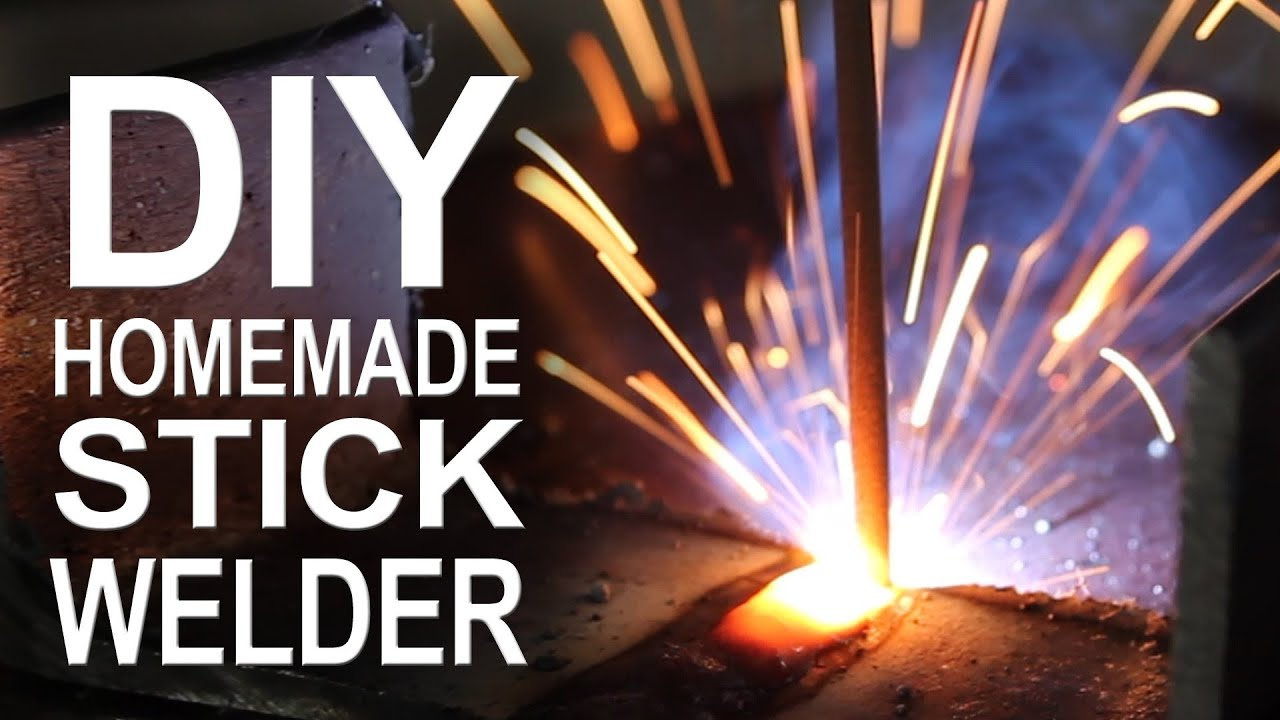 how to make a welding machine at home