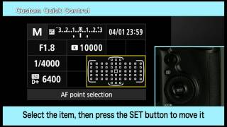 01. Canon EOS 5DS and 5DSR - CPN Custom control screen
