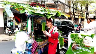 Xe lá Chuối (Độc Lạ) đặc sản các món ăn truyền thống của bà chủ hào sảng vui tính | saigon travel