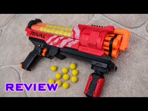 [REVIEW] Nerf Rival Artemis XVII-3000 Unboxing. Review. and Firing Test