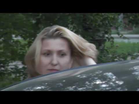 Пьяная женщина на Хендае ул. Ленинградская. Место происшествия 01.07.2016