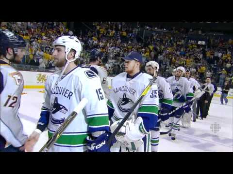 Canucks at Predators - Game Highlights - R2G6 2011 Playoffs - 05.09.11 - HD