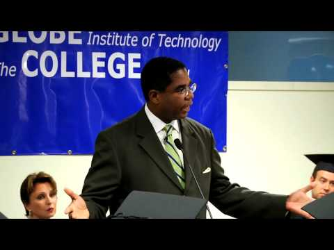 Andre Taylor: Keynote at New York City's Globe Institute of Technology Commencement