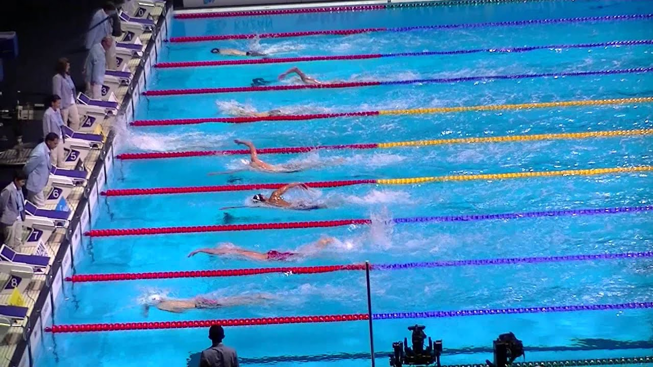 400m Freestyle men, Final. Swimming World Championships ...