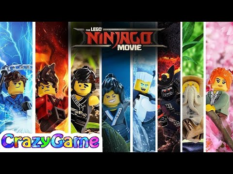 Lego Ninjago Movie 2017 Complete Game Movie W Ending Credit