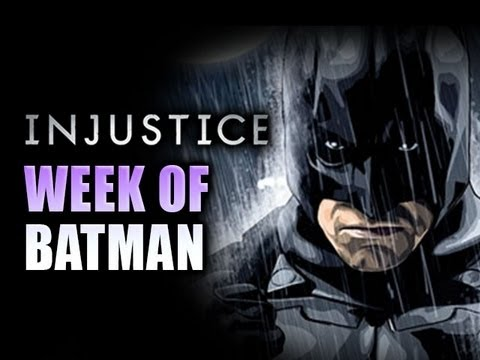 INJUSTICE WEEK OF! BATMAN Online Matches Part 5