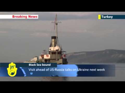 NATO warships head to Black Sea: US sends destroyer as Russian troops threaten Ukraine