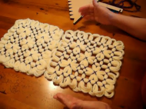 Butterfly Loom Magic Board Pattern 3.AVI