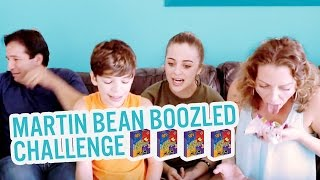 Martin Bean Boozled Challenge! | Baby Ariel, Jacob, Sharon, Jose