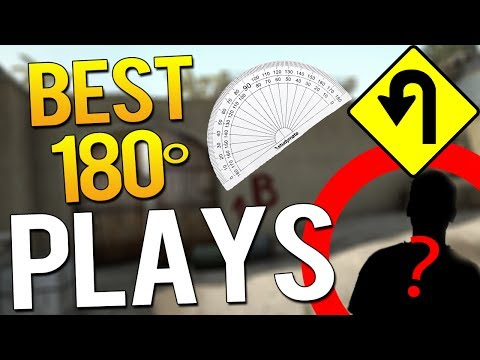 BEST 180 DEGREE PLAYS OF ALL TIME! (INHUMAN REACTIONS) ft.Shroud, JW, Hiko &MORE!