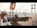 KALEO - WAY DOWN WE GO - electric guitar cover mp3 download