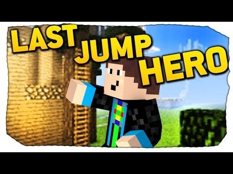 Let's Anzock: LAST JUMP HERO - Minecraft Jump 'n Run Map