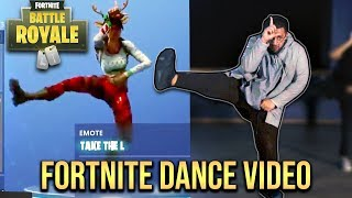 9 FORTNITE TÄNZE in 1 !!! | (OFFICIAL DANCE VIDEO) by DANERGY