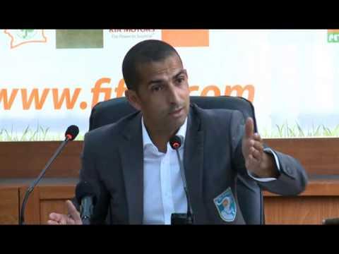 Sabri Lamouchi donne des nouvelles de l'équipe nationale de la Côte d'Ivoire