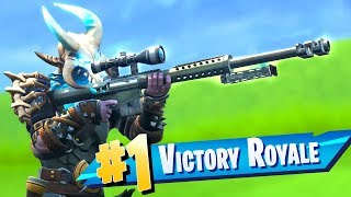 The New Heavy Sniper Rifle Gameplay in Fortnite..