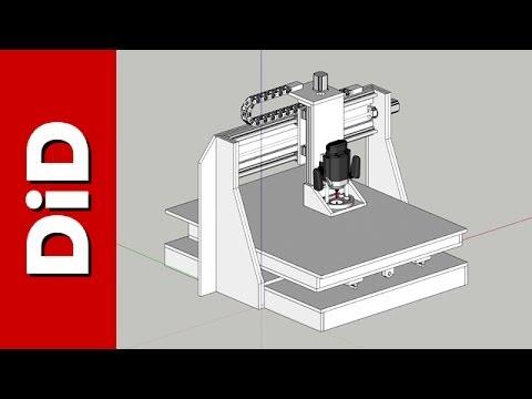 196. Ploter frezujący czyli CNC DiD - projekt