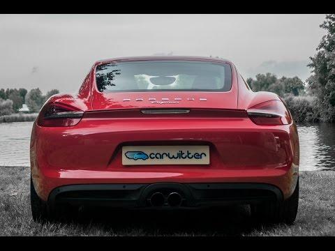 2014 Porsche Cayman Optional Sport Exhaust System Revs
