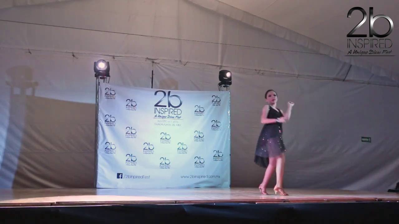 Karen Aguirre | Salsa Soloista Juniors | 2b Inspired 2016