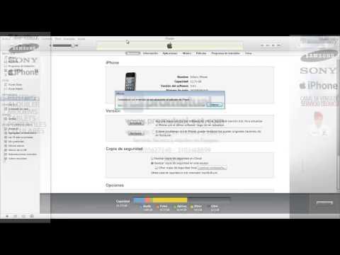 Como actualizar  sistema operativo Apple IPhone 4 o IPhone 4s a OS 6.0  de OS 5.0 gratis