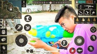 ( Phim Ngắn) FreeFire: Trận Chiến Súng Nước - Phiên Bản Con Nít - NCT Vlogs.
