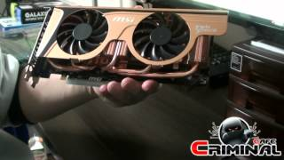 MSI GTX570 Twin Frozr2 OC Golden Edition unboxing