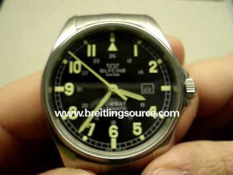 Glycine Combat Automatic Watch Review Video