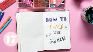 How To Track Your Fitness in Your Bullet Journal | Plan With Me