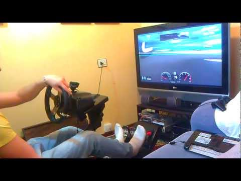 Nürburgring 24h BMW M3 CSL [GRAN TURISMO 5]  Logitech G27 steeringwheel