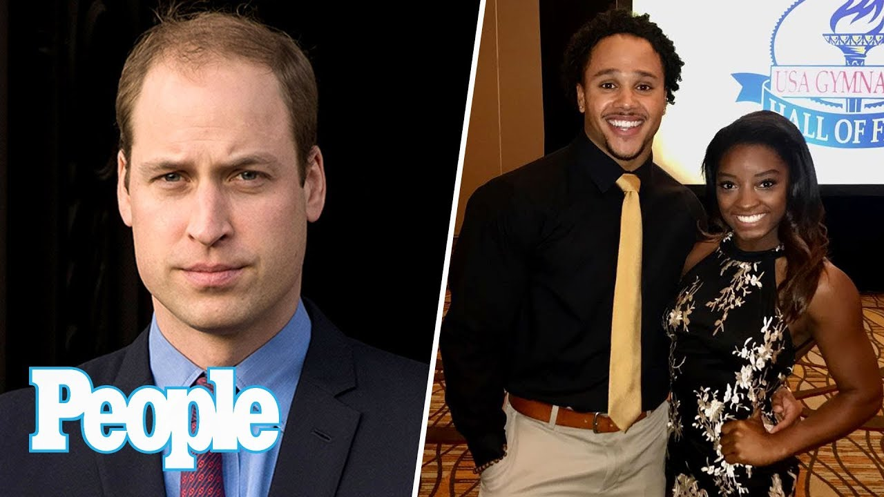 Prince William On Princess Diana's Bulimia, Simone Biles Reveals 1st Boyfriend | People NOW | People
