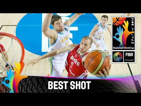 Ukraine v Turkey - Best Shot - 2014 FIBA Basketball World Cup