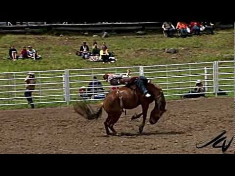 Horse Power - Slow motion rodeo action