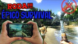JOGOS Survivals como ARK MOBILE que RODAM EM CELULARES FRACOS | [David Player]