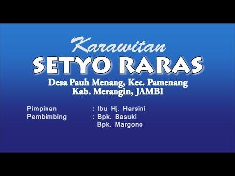 BGR Manyar Sewu - Karawitan Setyo Raras (PKJ Merangin)
