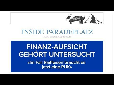 20.07.18 | INSIDE PARADEPLATZ MIT LUKAS HÄSSIG | FINANZ-AUFSICHT GEHÖRT UNTERSUCHT