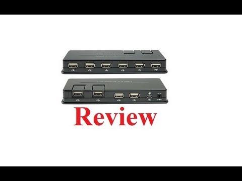 GWC HU2SA0 USB 2.0 10-Port Hub Review