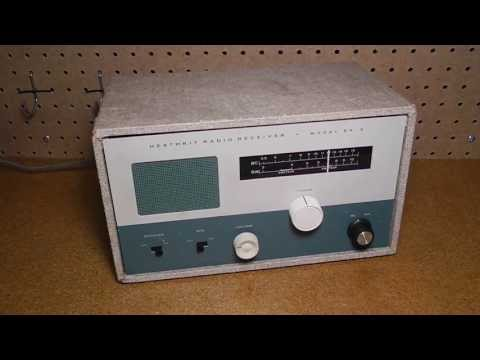 The Heathkit EK-2B Radio Receiver