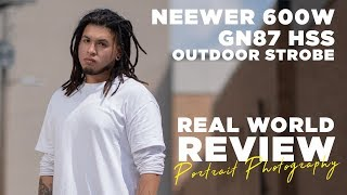 Neewer 600W GN87 HSS Outdoor Flash Strobe Light for Sony - a real world review!