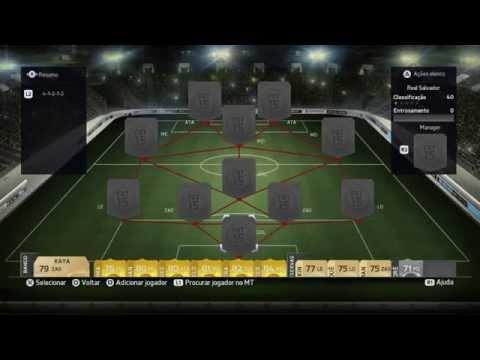 FIFA 15 UT-SQUAD BUILDER BARCLAYS,TIME BOM E BARATO