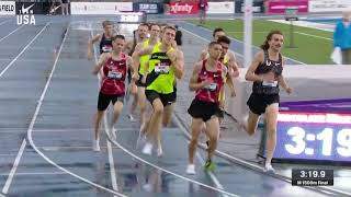 Craig Engels Win The Men's 1500-meter National Title | Champions Series Presented By Xfinity