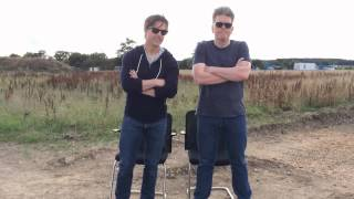 Tom Cruise and Chris McQuarrie Mission Impossible - ALS Ice Bucket Challenge