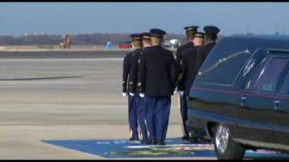 Fallen Army Hero Comes Home For Final Time - Pt.1