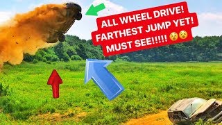 BEST CAR JUMP TO DATE! Ford Escape! SO EPIC!!!