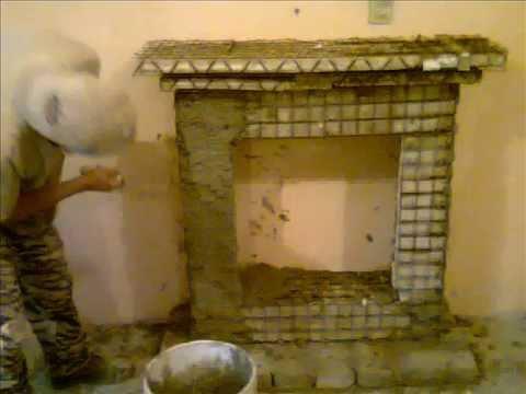 Construcci n de una chimenea aparente youtube - Chimeneas de madera decorativas ...