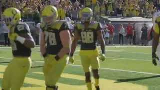 Ducks 1st touchdown 2015