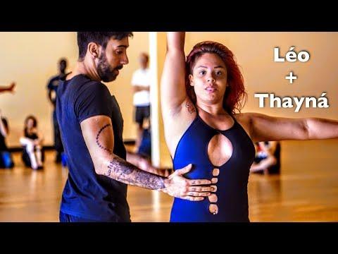 Amazing Brazilian Zouk Dance by Thayná Trovick & Léo Chaffe at Zouk Atlanta
