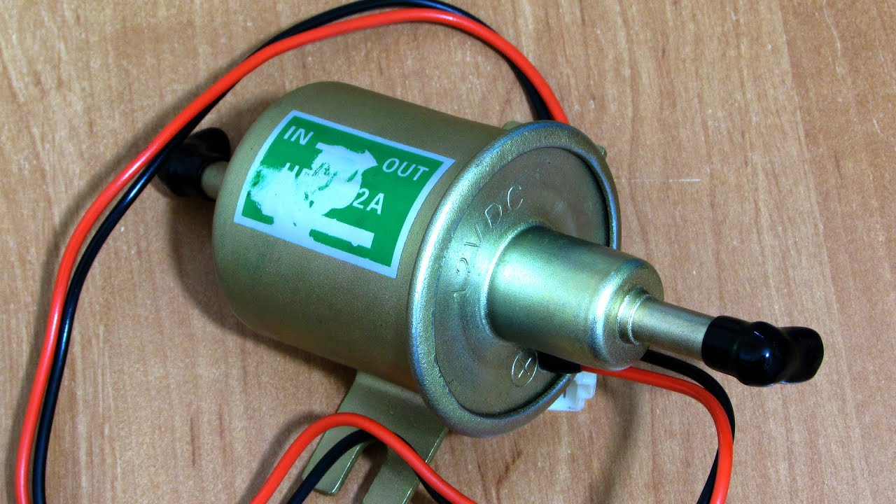 Как поставить электробензонасос на карбюратор ваз 2109 своими руками