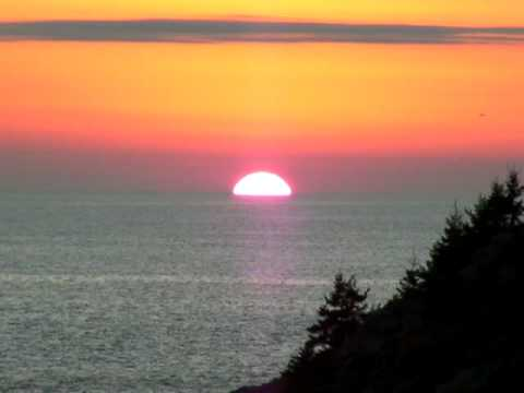 Monhegan Sunset (Going All the Way Down)
