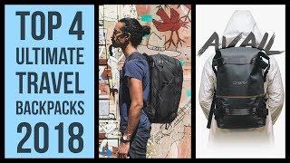 Top 4 best travel backpack 2018 | Peak Design travel backpack camera