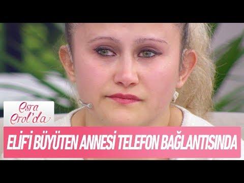 Elif'in 2,5 yıldır görüşmediği annesi telefon bağlantısında - Esra Erol'da 4 Aralık 2017