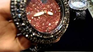 Mr Chris Da Jeweler Custom Lab Made Techno Iced out Watches